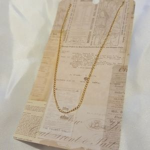 """*NWOT* 18"""" gold-filled chain"""
